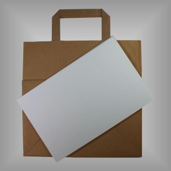 Einlegeboden 25 x 16 cm für Papiertragetaschen