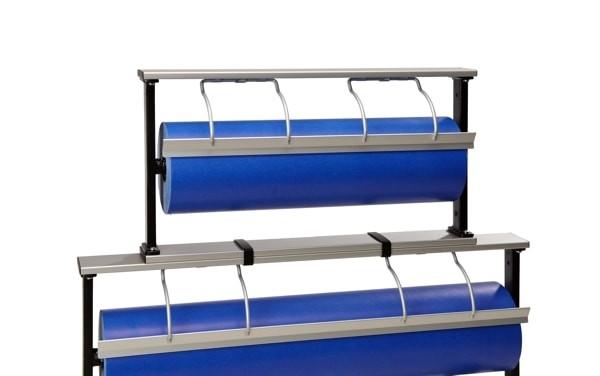 Papierabroller Aufsatz Tischabroller aus Alu