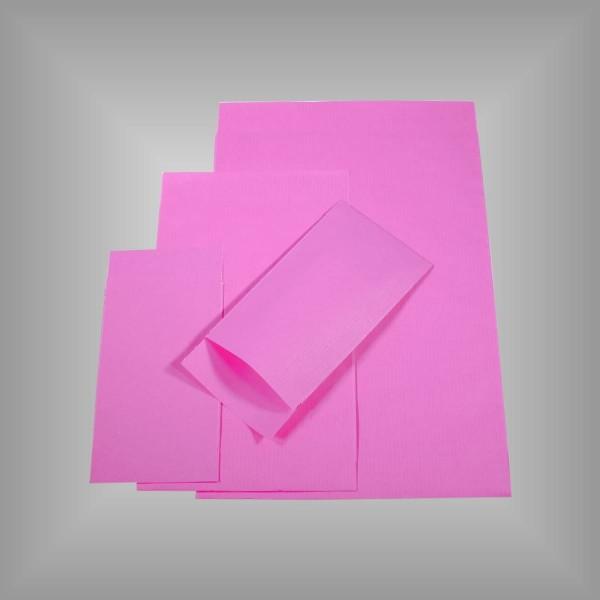 Papierflachbeutel Pink