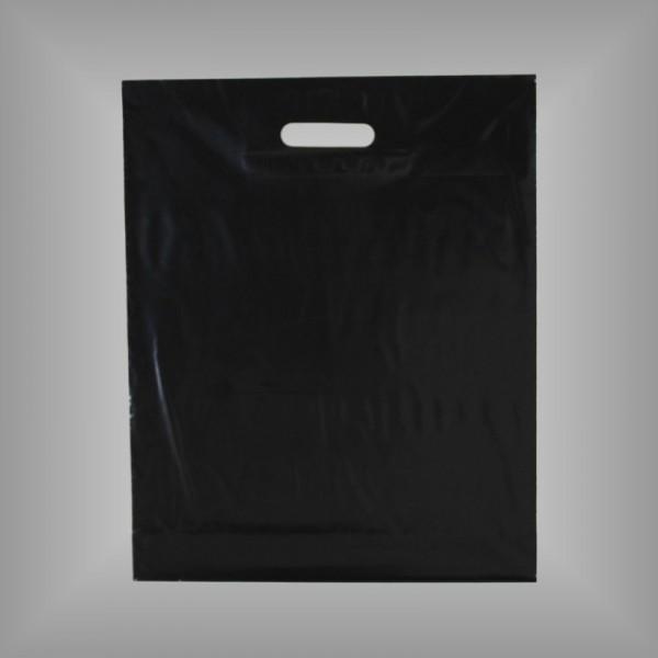 500 Plastiktüten schwarz, versch. Größen