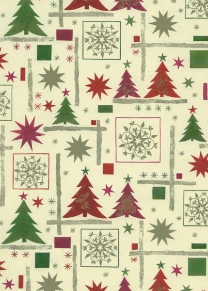 Geschenkpapier Weihnachten Dessin 49302