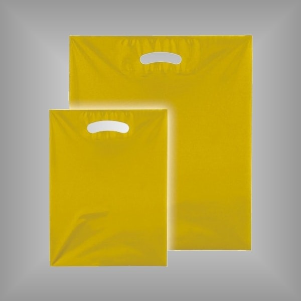 1000 Plastiktüten 25x33cm farbig-transparent