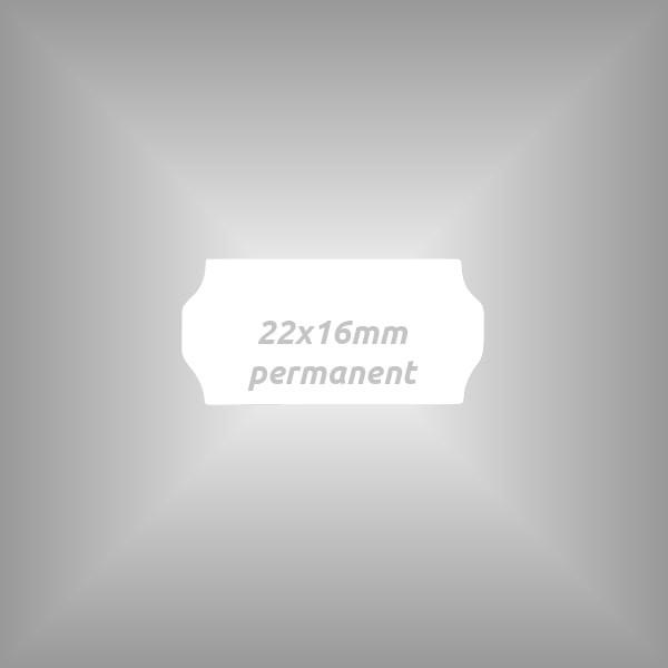 Preisauszeichner Etiketten 22x16mm, 10 Rollen