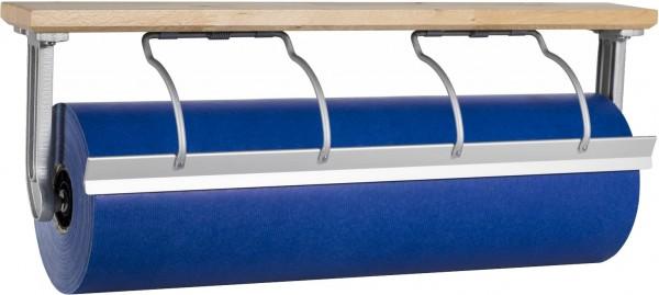 Papierabroller Untertischabroller aus Holz