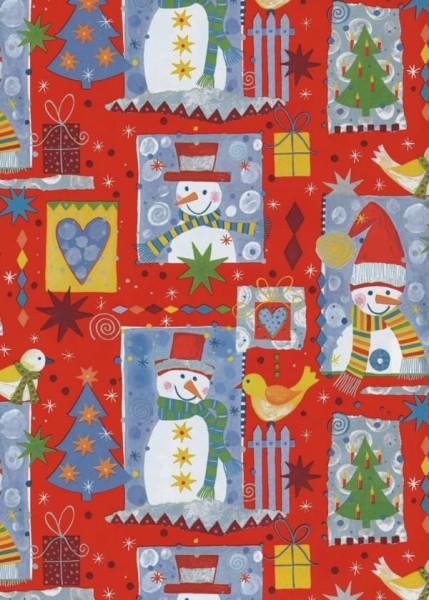 Geschenkpapier Weihnachten Dessin 49726