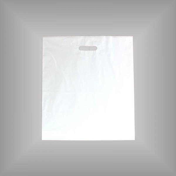 500 Plastiktüten weiß 45x50+5cm