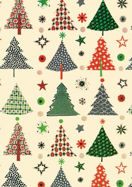 Geschenkpapier Weihnachten Dessin 49270