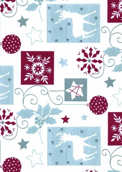Geschenkpapier Weihnachten Dessin 59207