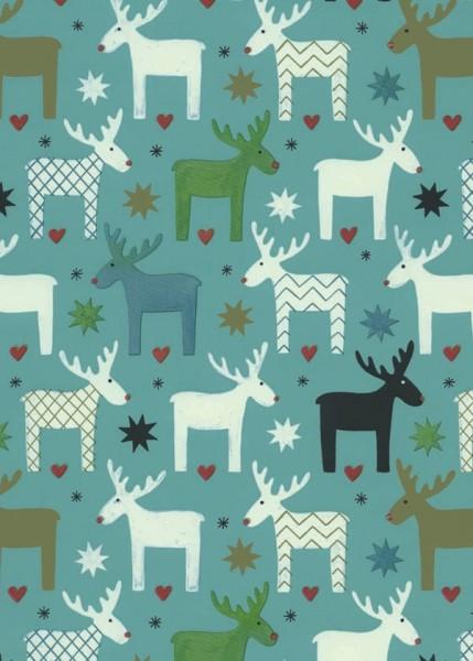 Geschenkpapier Weihnachten Dessin 49304