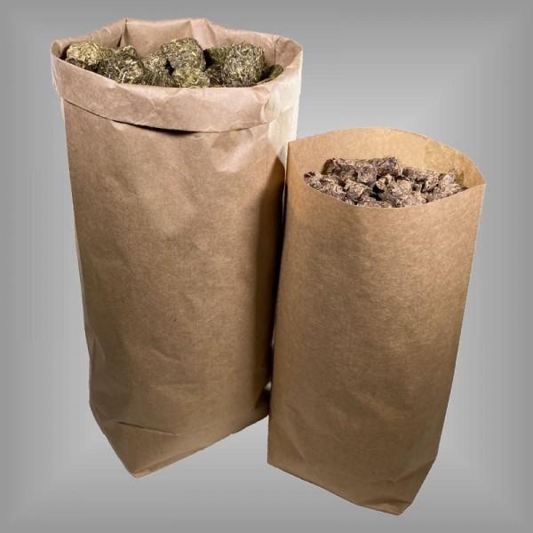 Papiermüllsäcke braun, Bio 100% recyclebar