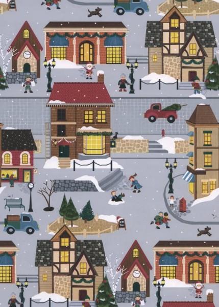 Geschenkpapier Weihnachten Dessin 49296