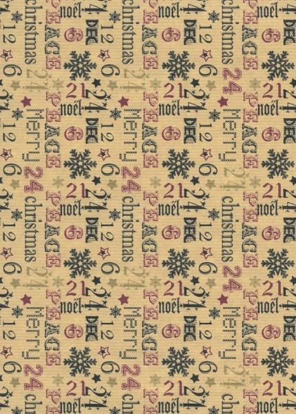 Geschenkpapier Weihnachten Dessin 39903