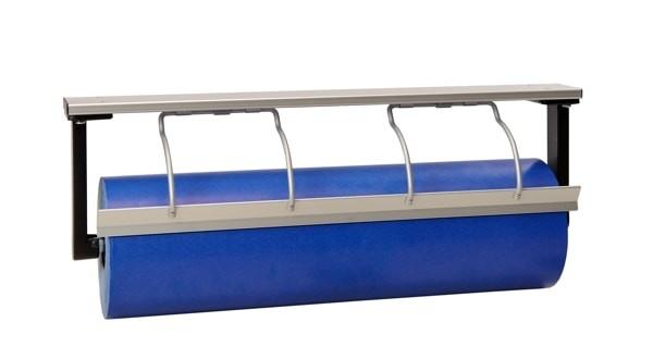 Papierabroller Untertisch Tischabroller aus Alu