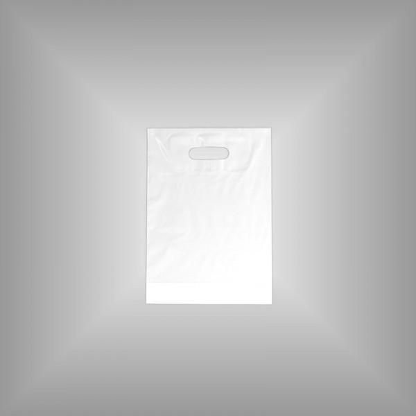 1.000 Plastiktüten weiß 25x35+4cm