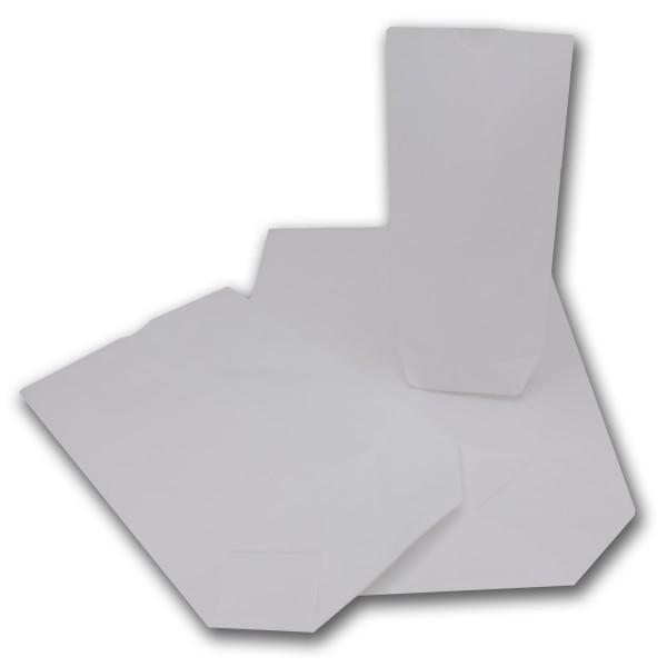 Papierbodenbeutel weiß versch. Größen
