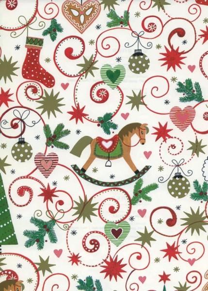 Geschenkpapier Weihnachten Dessin 49266