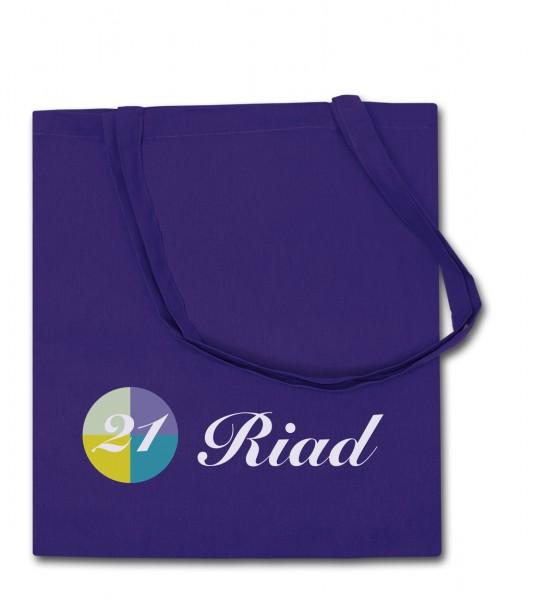 Baumwolltragetaschen 38x42cm, 1-farbig bedruckt