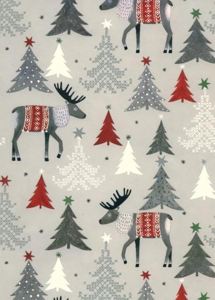 Geschenkpapier Weihnachten Dessin 49320