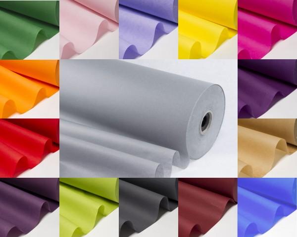 Seidenpapierrolle farbig 75 cm